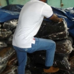 one men check rubber quality