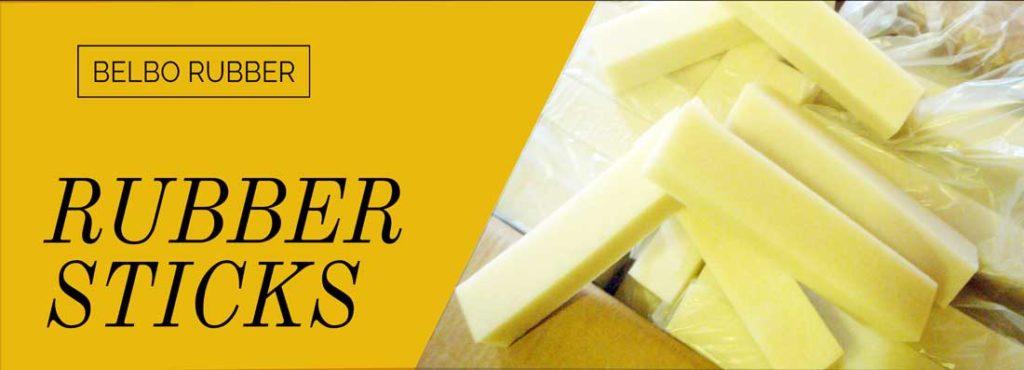 rubber sticks - belbo rubber